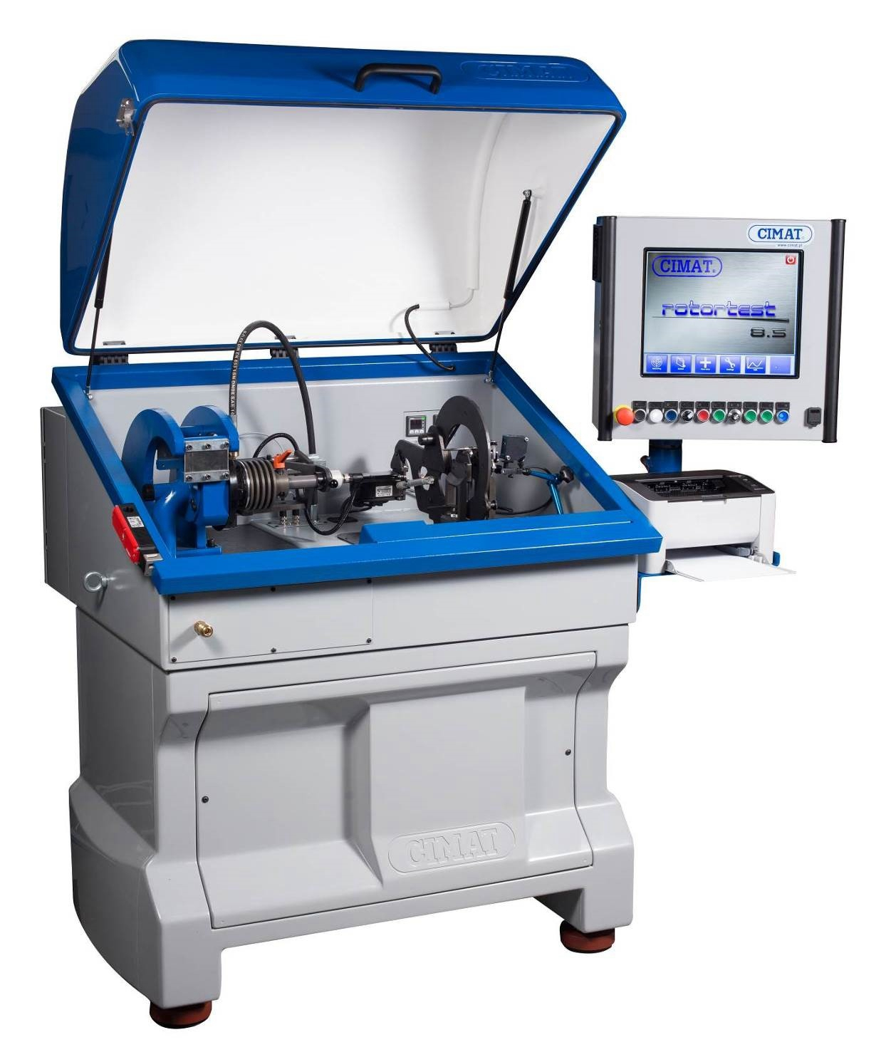 涡轮增压器双工位动平衡机